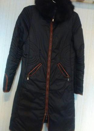 Фирменное тёплое пальто