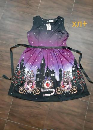Платье xl+