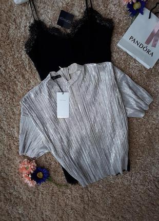 Красивеная блуза bershka
