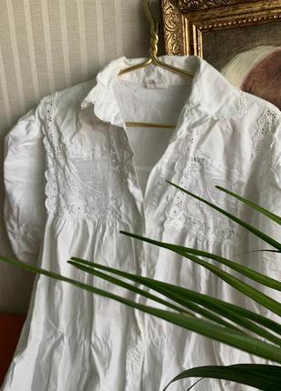Шикарне біле плаття, італія 100%котон