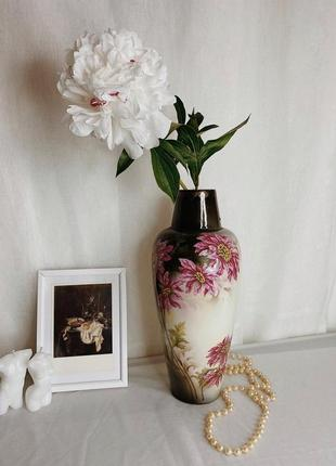Фарфоровая ваза винтаж