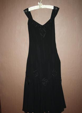 Вечернее платье бельевом стиле №409
