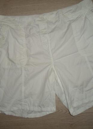 Белоснежные шорты, 100% коттон