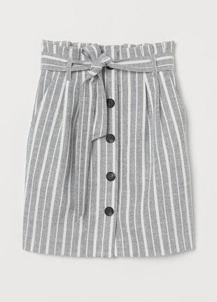 Распродажа!!! актуальная юбка мини с поясом высокая посадка №33