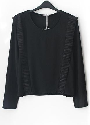 Очень красивая легкая блузка zara, новая, с бирочкой   • р-р l (на грудь 90-96 см)