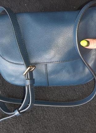 Кожаная новая сумка натуральная кожа