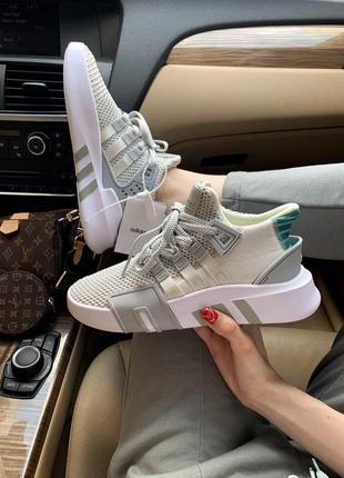 Новинка женские кроссовки adidas equipment grey наложка
