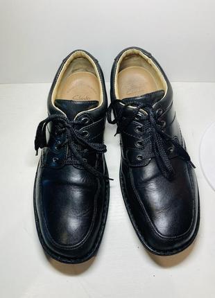 Кожаные туфли ботинки чёрные мужские 43 44 размер