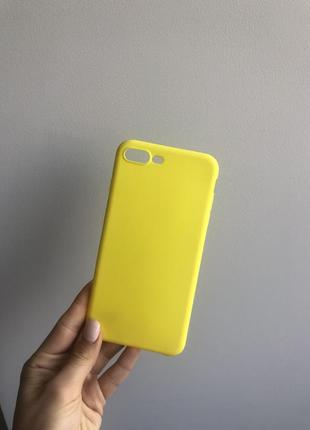 Яскравий чехол на айфон 7+, 8+