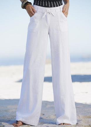 Льняные штанишки на наш 46-48 р-р