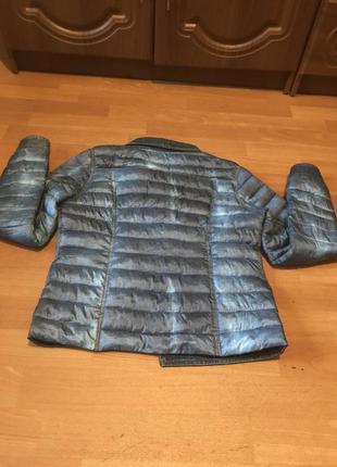 Куртка стильная эмитация джинсовой