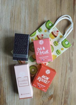 Акция! 4 мини - аромата в подарочном пакете
