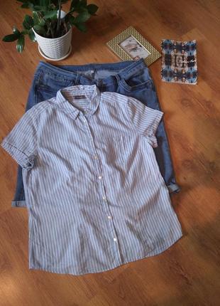 Рубашка с коротким рукавом от yessica