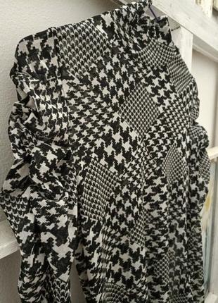 Лонгслив carolin biss m,s черный с белым7 фото