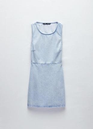 Новый сарафан zara xs s zara платье xs s плаття zara