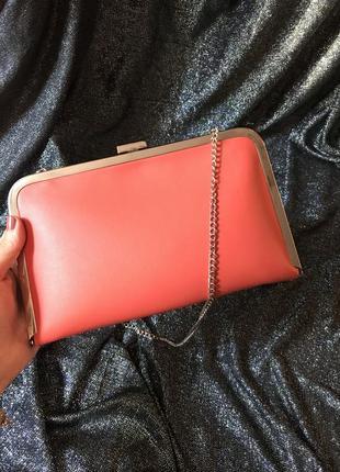 Клатч на ланцюжку ,сумка,гаманець на це почті,сумочка new look