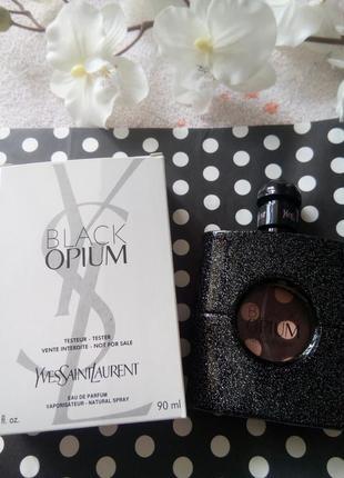 Парфюм тестер black opium ysl eau de parfum 90 ml