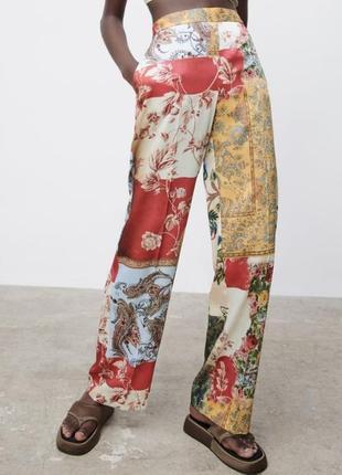 Летние лёгкие штаны/ летние широкие штаны