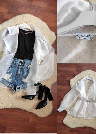 Стильна блуза - накидка - ombelle paris