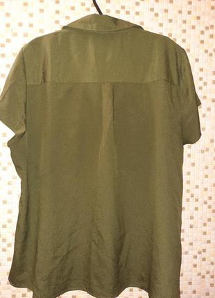 Рубашка хаки2 фото