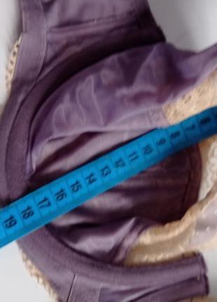 Кружевной лифчик бюстгальтер мягкий без поролона panache 30ff 65ff 30g 65g3 фото