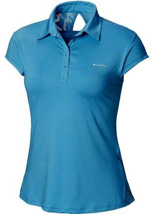 Поло\футболка columbia peak to point novelty polo