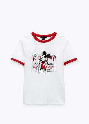 Zara футболка, футболка коттон, футболка хлопок, футболка с принтом, ыутболочка с рисунком
