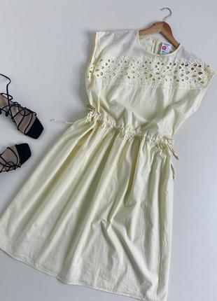Вінтажна сукня красивого лимонного відтінку