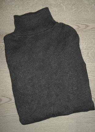 Актуальный гольфик в рубчик, свитер, кофта , 80% вискоза