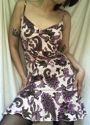 Обтягивающее летнее платье