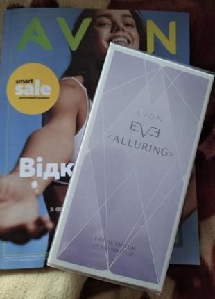 Парфюмированная вода eve alluring