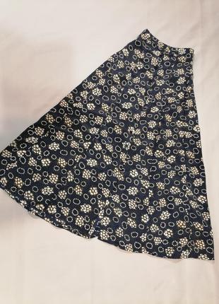 🍏🍒длинная юбка в горошек и цветочек