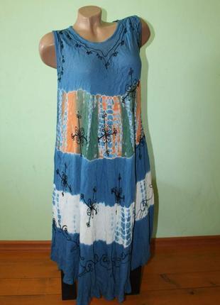 Модное платье бохо