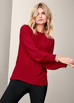 Стильная красивая женская блуза, блузка от tcm tchibo (чибо), германия, s-m
