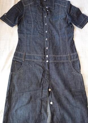 Винтаж. джинсовое платье рубашка bogner jeans