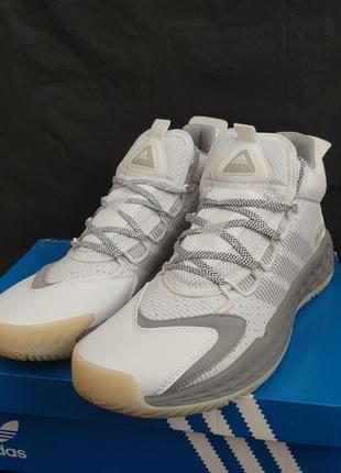 Кроссовки мужские новые баскетбольные волейбольные adidas pro boost mid