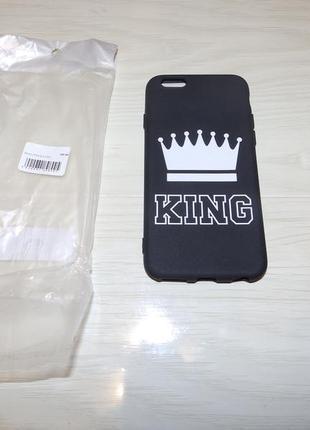 Чехол apple iphone 6/ 6s print king