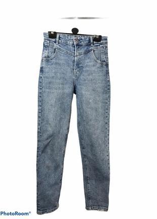 Стильные джинсы mom slim fit 💙