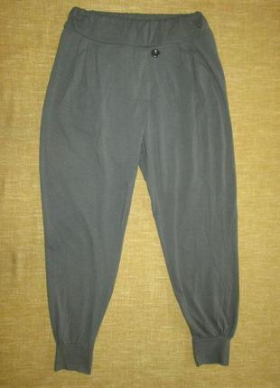 Женские брюки на резинке джоггеры today италия штаны в спортивном стиле