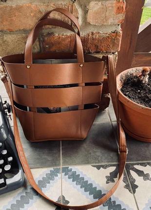 Красивая сумка эко кожа)