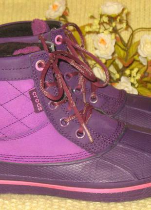 Мега удобные ботинки crocs