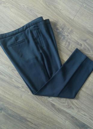Чорні фірмові класичні брюки завужені до низу (atmosphere)