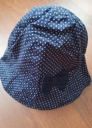 6-7-8 лет(122-128 см)h&m классная кепка панама для девочки