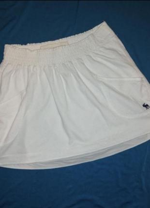 Хлопковая юбка abercrombie&fitch xs-s