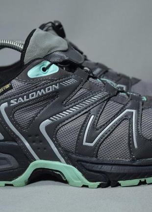 Salomon magma gtx gore-tex кроссовки трекинговые трейловые беговые непромокаемые оригинал 40 р/25 см