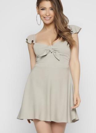 Летнее платье сарафан из натуральной ткани