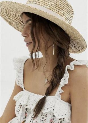 Соломяная шляпка