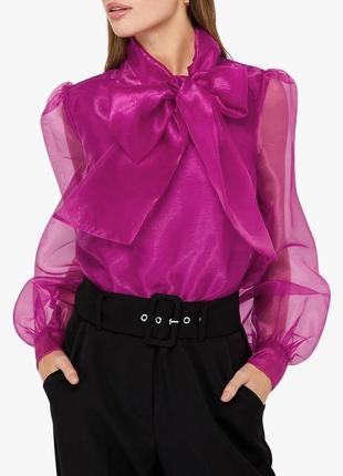 "Блуза с объемными рукавами ""shein"""