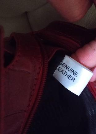 Фирменная сумка marta p. италия. кожа2 фото