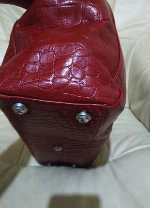 Фирменная сумка marta p. италия. кожа5 фото